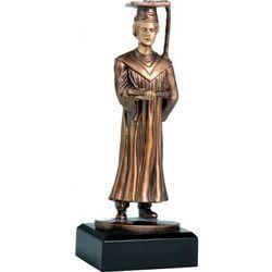 Statuetka absolwent