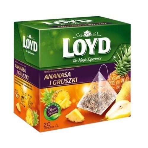 Herbata LOYD TEA Ananas i Gruszka 20x2 g
