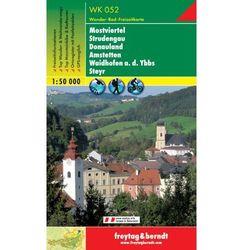 Dolna Austria część południowo-zachodnia Mostviertel mapa turystyczna 1:50 000 Freytag & Berndt