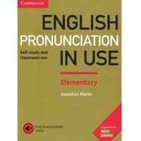 English Pronunciation In Use Elementary Book With Answers And Downloadable Audio (opr. miękka)