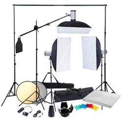 Zestaw studio: oświetlenie, statywy i softboksy Zapisz się do naszego Newslettera i odbierz voucher 20 PLN na zakupy w VidaXL!