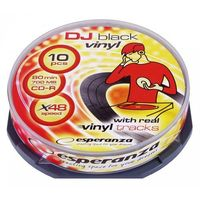 CD-R VINYL 700MB x52 CAKE BOX 10