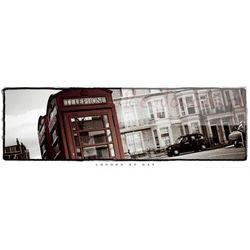 Londyn - Czerwona Budka Telefoniczna , Taxi - plakat