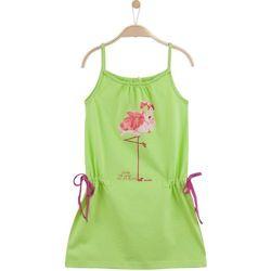 Letnia sukienka na ramiączkach dla dziewczynki