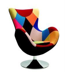 Fotel wypoczynkowy patchwork HALMAR BUTTERFLY