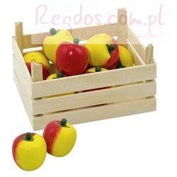 Owoce w skrzynce, jabłka, 10 elementów.