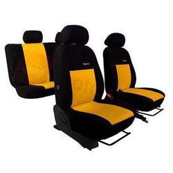 Pokrowce samochodowe ELEGANCE Żółte BMW Serii 1 F20/F21 po 2011 - Żółty