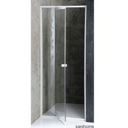 AMICO drzwi prysznicowe do wnęki 84-102 cm G80