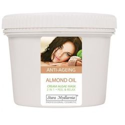ALMOND OIL - Kremowa Maska Na Twarz Z Migdałami 700 ml