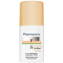 ERIS Pharmaceris F Fluid matujący zwężający pory SPF25 02 Natural 30ml