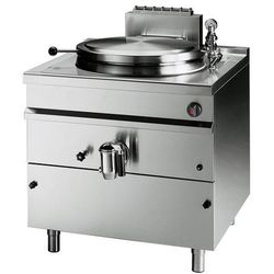 Kocioł warzelny ciśnieniowy gazowy, pośredni system grzania - 100 litrów