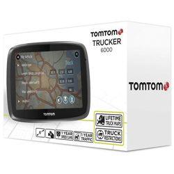 """TomTom Trucker 6000 6"""" Europa Dożywotnia Aktualizacja"""