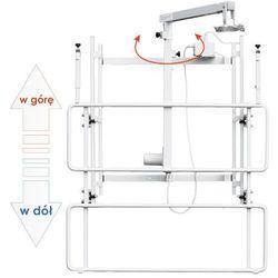 Uchwyt ścienny do tablicy z elektryczną regulacją wysokości i wysięgnikiem do projektora uVIS-EL RW50