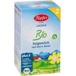 TOPFER 2 600g Lactana Bio Mleko następne od 6 miesiąca BIO