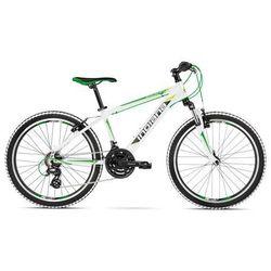 """Rower INDIANA Pulser 2.4 M14"""" Biało-Zielono-Limonkowy + DARMOWY TRANSPORT!"""