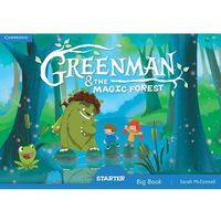 Greenman and the Magic Forest Starter Big Book - Sarah McConnell (opr. miękka)