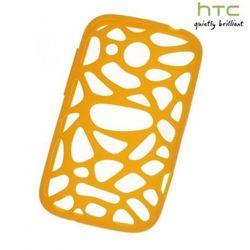 Etui Silicon Case HTC SC S780 Pomarańczowe do HTC Desire C - Pomarańczowy
