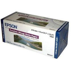 Epson C13S041377 Premium Glossy Photo Paper Roll, 210 mm x 10 m, 255 g/m2