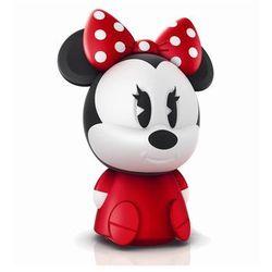 DISNEY - Lampka nocna ładowana Softpal LED Minnie Mouse Wys.18,9cm