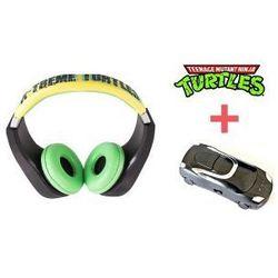 Słuchawki Żółwie Ninja + Odtwarzacz MP3