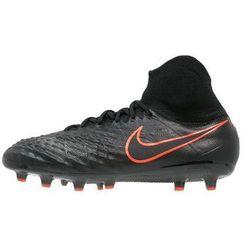 Nike Performance MAGISTA OBRA II AGPRO Korki Lanki black/total crimson