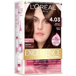 Excellence Creme farba do włosów 4.03 świetlisty ciemny brąz