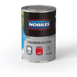 Emalia Chlorokauczuk Brązowy połysk 1L Nobiles