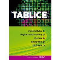 Tablice matematyka fizyka z astronomią chemia geografia biologia (opr. miękka)