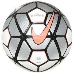 Nike Performance STRIKE Piłka do piłki nożnej white/silver/hyperorange