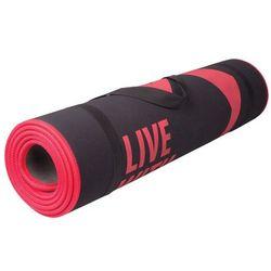 Mata do ćwiczeń fitness FLEXMAT III Spokey (czarno-czerwona)