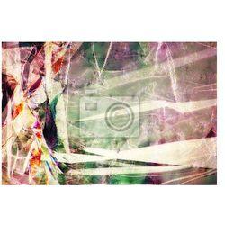 Obraz Folia z tworzywa sztucznego, w świetle spolaryzowanym