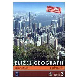 Geografia, klasa 1-3, Bliżej Geografii, podręcznik, część 3, WSiP +CD