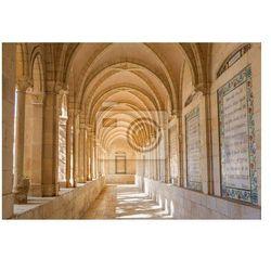 Fototapeta Jerozolima - korytarz z przedsionkiem, w kościele Pater Noster