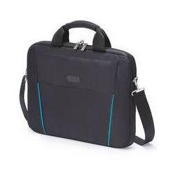 """Torba dla laptopów DICOTA Slim Case BASE 14-15.6"""" (D30997) Czarna/Niebieska"""
