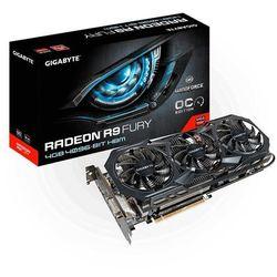 Gigabyte Radeon R9 FURY, 4GB HBM (4096 Bit), HDMI, DVI, 3xDP Szybka dostawa!