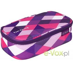 Herlitz Piornik kosmetyczka be.bag beatBox Purple Checked