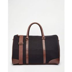 ASOS Holdall In Navy Canvas - Blue