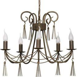 Żyrandol LAMPA wisząca TWIST 2766 Nowodvorski świecznikowy ZWIS metalowy IP20 maria teresa patyna