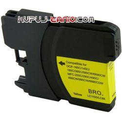 LC1100Y / LC980Y tusz do Brother DCP-145C DCP-195C DCP-165C DCP-375CW DCP-385C DCP-585CW MFC-795CW MFC-6490CW