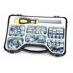 Zestaw opasek metalowych w walizce - M60046