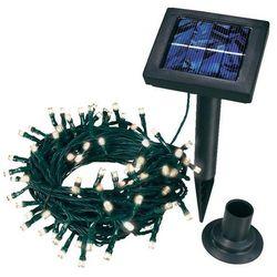 Lampki choinkowe LED Esotec solarne 102102, Białe, 100 diod, 1200 cm, IP44