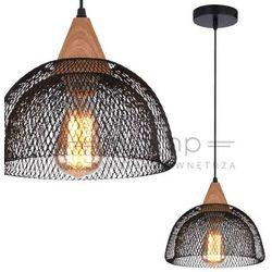 LAMPA wisząca BRIKS 31-43320 Candellux metalowa OPRAWA zwis IP20 siatka czarna