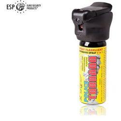 Gaz pieprzowy KOLTER-GUARD TORNADO 50 ml z latarką