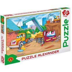 Puzzle 20 Maxi Maszyny budowlane