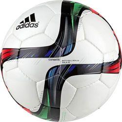 Adidas, piłka nożna Conext15 Sala, biała, multikolor Darmowa dostawa do sklepów SMYK