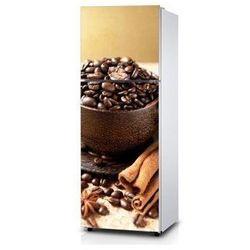 Naklejka na lodówkę - Kompozycja kawy - Naklejka laminowana