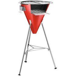 Bodum - grill ogrodowy - Fyrkat Cone - czerwony - czerwony