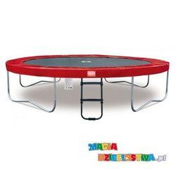 Trampolina dla dzieci BERG Elite + Regular Red 330 cm + Siatka zabezpieczająca T-series 330 cm
