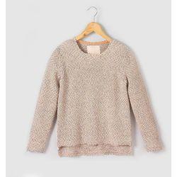 Dzianinowy sweter z wielokolorowej włóczki 10-16 lat