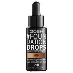 GOSH Foundation Drops - Podkład do twarzy 010 Tan, 30 ml
